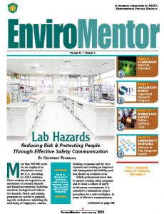 ASSE Enviromentor - Lab Hazards and Safety Signs