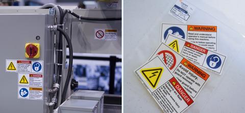 Safety Labels - Safety Label Kit