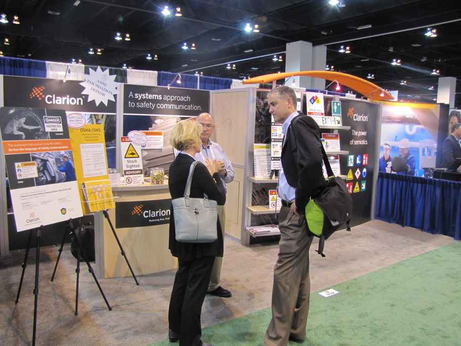 Safety 2012 - Clarion Booth
