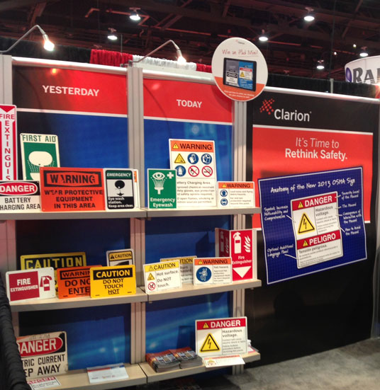 Safety-2013 Booth